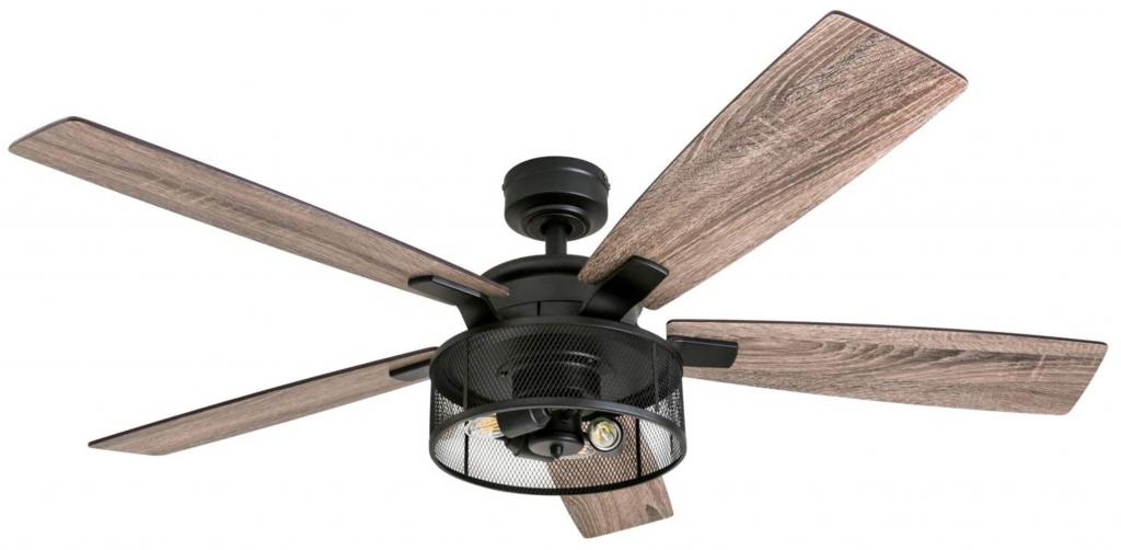 Honeywell Ceiling Fans 50614-01 Carnegie LED Ceiling Fan 52 inch