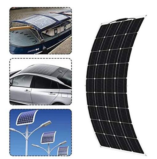 QWERTOUR 300W, 18V Solar Panel