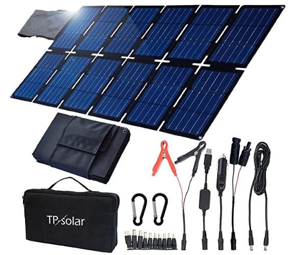 TP-solar 100W Foldable Solar Panel