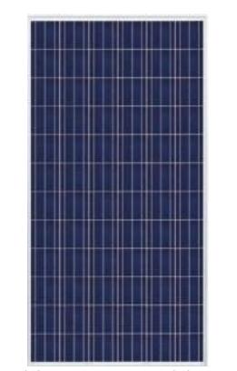 Trina TrinaSmart 300W Poly SLV/WHT Solar Panel TSM-300PD14.002 - Pack of 4