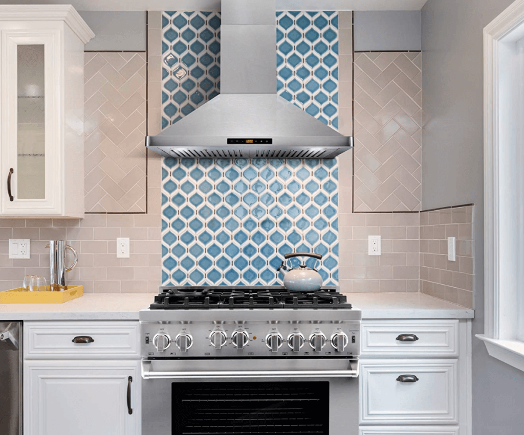 Ventilation with an Induction Cooktop