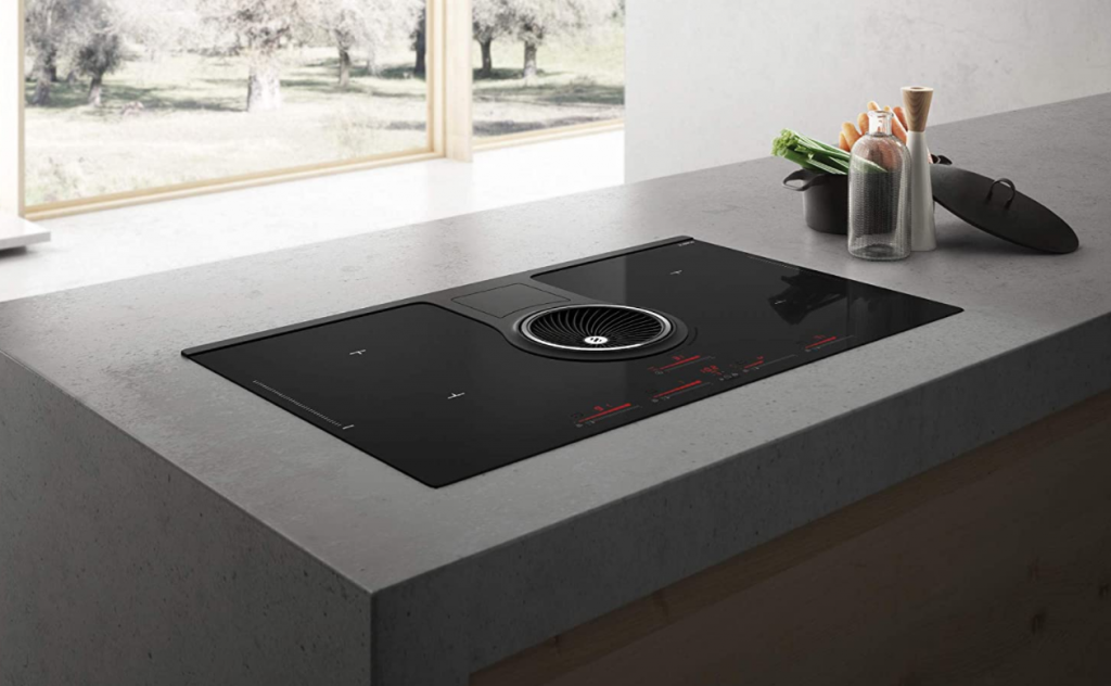 Induction Cooktop With Downdraft Revolution Two